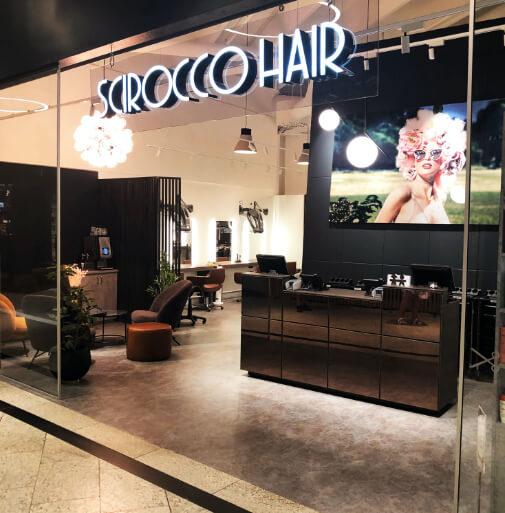 Scirocco Hairdresser studio på CC Vest kjøpesenter
